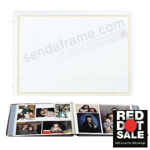 Xl Pro Elite White Ez Stick Magnetic Page Album Picture Frames