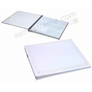 12 At A Time Post Boundbrelite Bright White Album Picture Frames