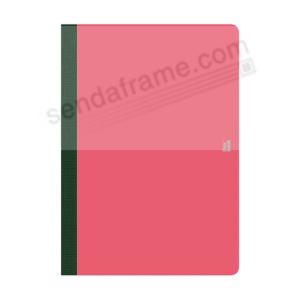FLEXBOOK SMARTBOOK (6x9 Ruled) Pink/Black by PratParis® - Picture