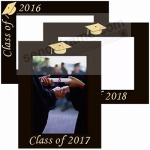 Celebrate Your Graduation With Our Engraved Frame In Black Hardwood