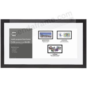 Crosby Panoramic Float Ebony Black Frame 19x1016x7 By Prinz Usa