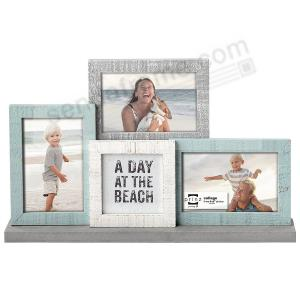 Sandy Shores Mantel Collage Frame For 3 4x6 Prints By Prinz