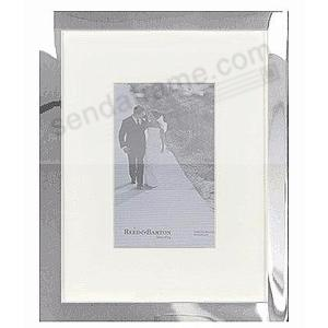 Luxe Matted Bellevue Silver 8x105x7 Frame By Reed Barton