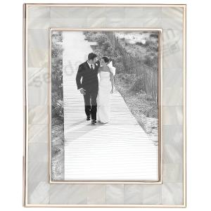 Mother Of Pearl Rose Gold Classic 5x7 Frame By Reed Barton