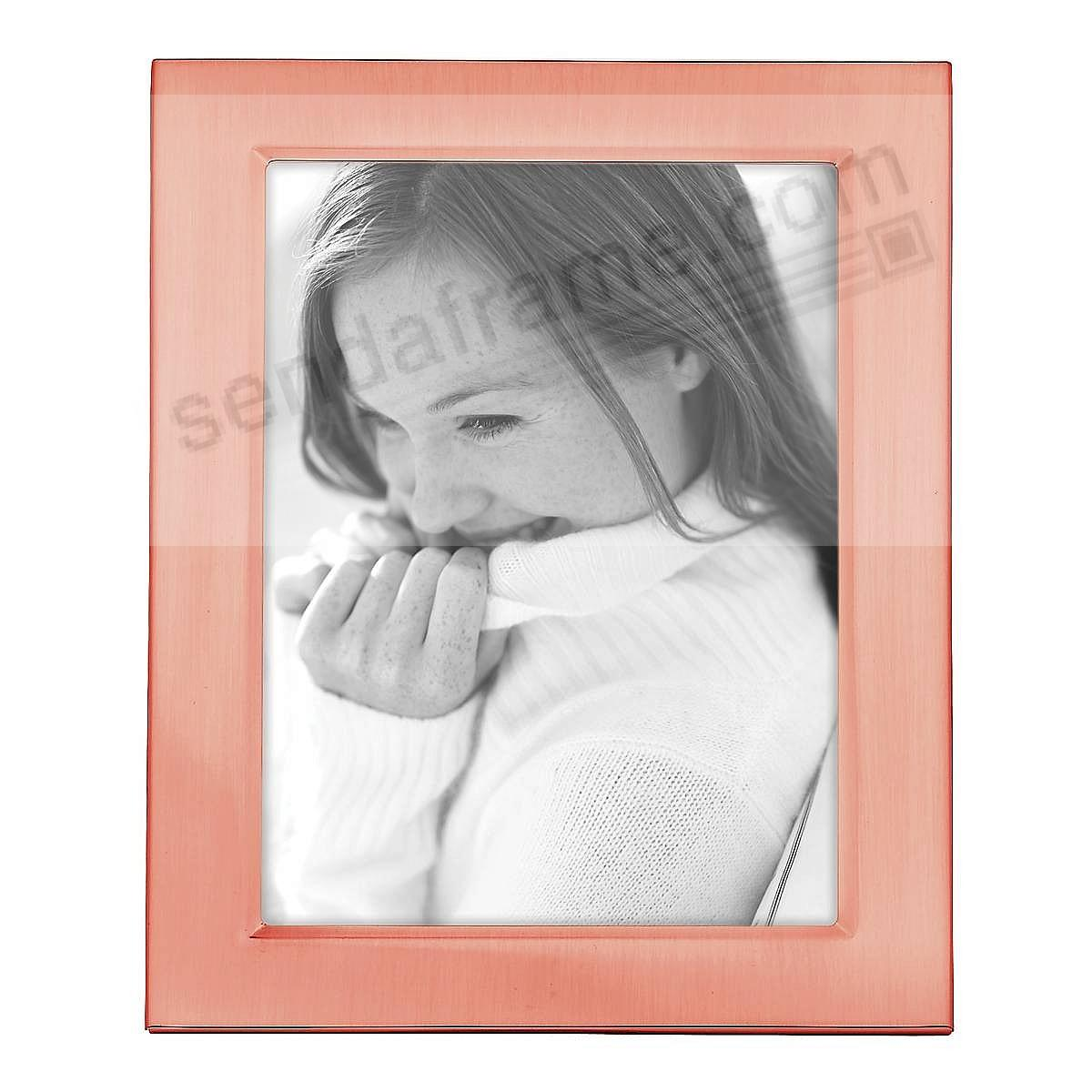 Reed Barton Classic Rose Gold 5x7 Engraveable Frame Picture