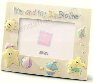 Me And My Big Brotherbrby Russ Berrie Picture Frames Photo