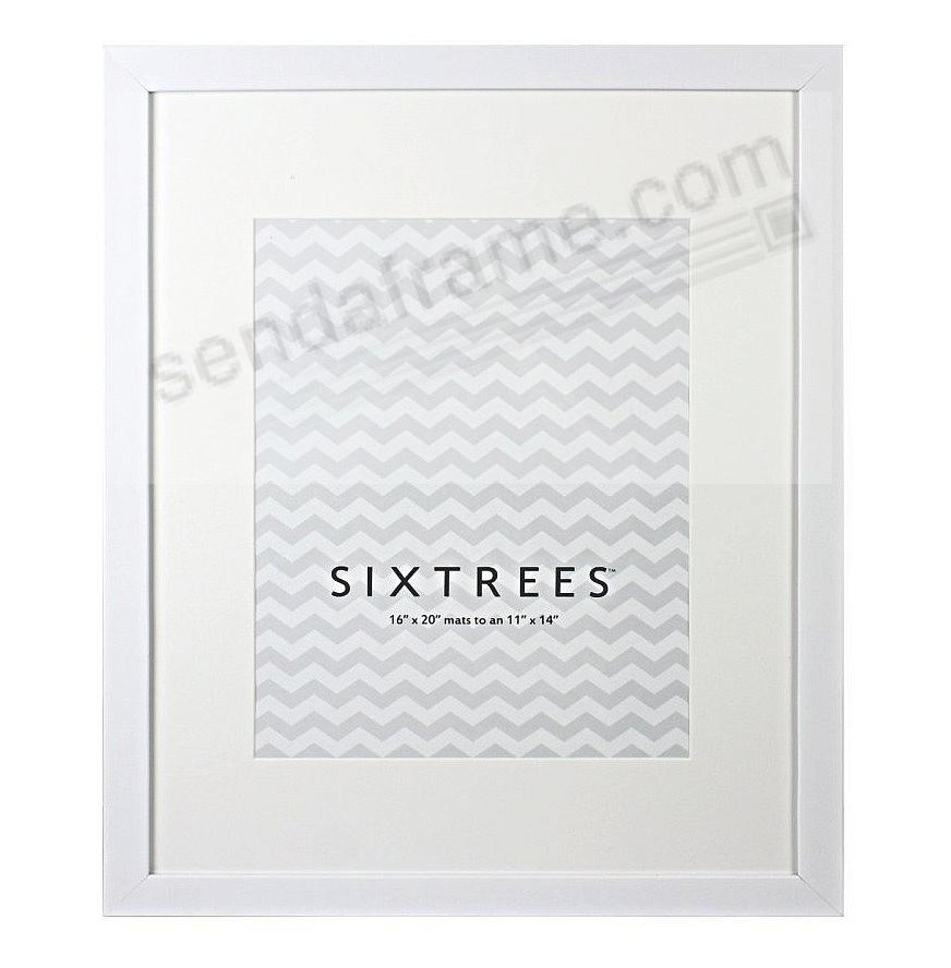 WHITE MATTED 16x20/11x14 frame by SIXTREES® - Picture Frames, Photo ...