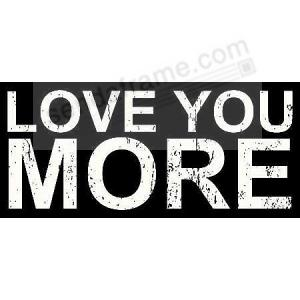 Love You More 11x5x2 Distressed Wood Box Sign By Sixtrees Picture