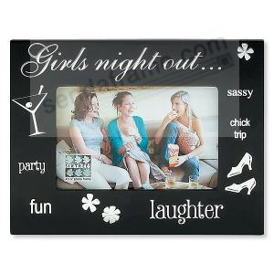 Wood Expressions Girls Night Outbretched Keepsake Picture
