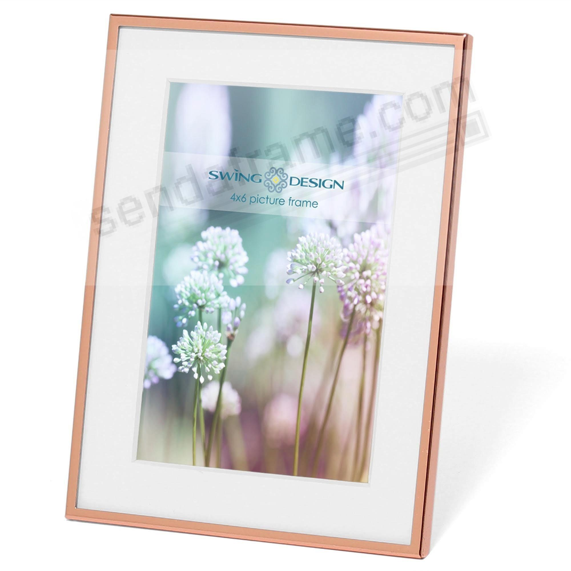 The original essex rose gold 4x6 frame by swing design picture the original essex rose gold 4x6 frame by swing design jeuxipadfo Gallery