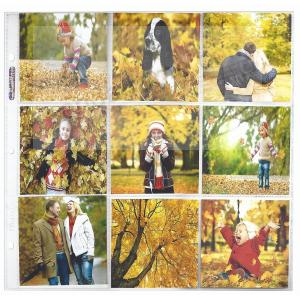 Genuine Ultrapro 4x4 Refill Pages For 12x12 Albums Picture Frames