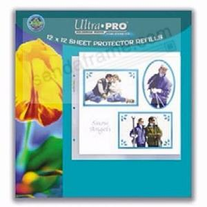 Genuine Ultrapro 3 Ring Photo 12x12 Pocket Pages 10 Count Pack
