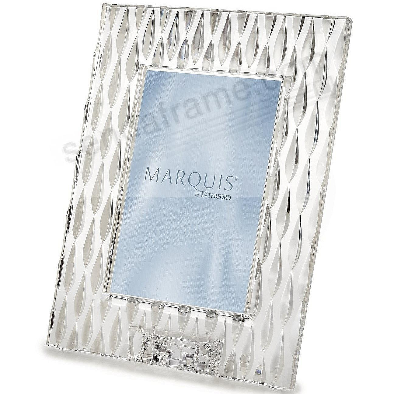 Waterford Marquis Crystal Rainfall 5x7 Frame Picture Frames