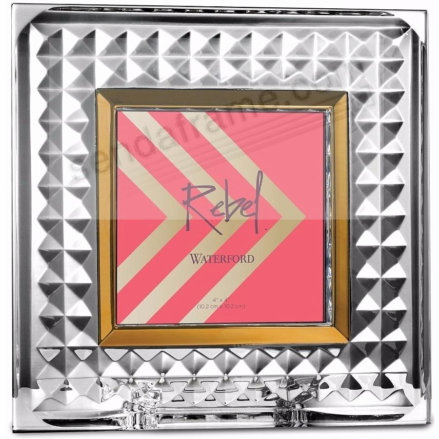 New REBEL Crystal 4x4 frame by Waterford® - Picture Frames, Photo