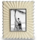 Ivory Natural SIMPLE HORN 5x7 frame by Eccolo�