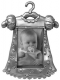 ISABELLE Antique Silver Metal Jewels Frame by Prinz�