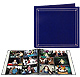XL Pro Elite Navy-Blue EZ-Stick Magnetic page album