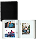(specially priced assortment) Modern 6-per-view faux leather album holds 300 photos by Malden Design�