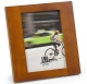LINEAR WOOD Black Frame with 11x13/8x10 coordinated mat by Malden�