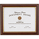 Economical Walnut & Gold Document by Lawrence Frames�