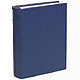 Standard 3-ring Traditional Navy Leather Clear Pocket Albumby Graphic Image�