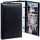 CONCORD 3-ring pocket black proof-book holds up-to 300 4x6 prints