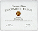Thin Line White document frame by Lawrence Frames�