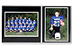 Player/Team 7x5/5x7 MEMORY MATESBlack cardstock double photo frame / white border (sold in 10s)