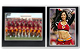 Team/Player 7x5/3�x5 MEMORY MATESBlack cardstock double photo frame w/white border (sold in 10s)