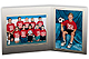 Team/Player 7x5/5x7 FANTASY MEMORY MATESCardstock double photo frame (sold in 10s)