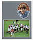 Player/Team 7x5/3x5 MEMORY MATESCardstock double photo frame (sold in 10s)