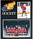 Hockey Player/Team 7x5/3�x5 MEMORY MATES cardstock double photo frame (sold in 10s)