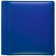 RODEO Blue pebble-grain leather #106 scrapbook album by Raika�