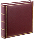 Store 200 photos in our handsome burgundy Classic Library bookbound 2-up pocket album
