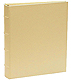 Standard 3-ring Saffiano-Gold eco-leather album with slip-in pocket pages by Graphic Image�