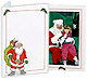 SANTA photo insert holidayfolder frame for 3x4 size prints (sold in 20s)