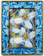 SEGUY FLOWERS Glass Frame from the Metropolitan Museum� collection