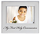 SACRED MOMENT series Silver FIRST HOLY COMMUNION frame by Prinz�