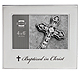 Silver BAPTIZED IN CHRIST frame by Prinz�