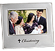 SACRED MOMENT series Silver CHRISTENING frame by Prinz�