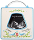BLUE LITTLE MIRACLE Ultrasound frame by Enesco�