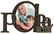 PAPA - I ♡ YOU special bronze SCRIPTS frame by Malden�