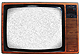RETRO TV Photo Frame - LIGHT BROWN - by Kikkerland�