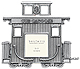 Silver Caboose fine pewter collectible train car frame - First At SendAFrame