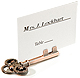 Vintage-inspired SKELETON KEY Place Card Stand