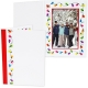 HOLIDAY STRING LIGHTS Photomount Folder 5x7 Single Frame (sold in 25s)