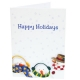 HAPPY HOLIDAYS SNOWMENPhoto Folder for 5x7 prints (sold in 25s)