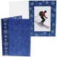 SNOWFLAKES Holiday Event 5x7 Photo Cardstock Folders