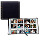 12-at-a-time post-bound ELITE Black album w/memo area 4x6 pocket pages