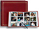 12-at-a-time post-bound ELITE Burgundy album w/memo area 4x6 pocket pages